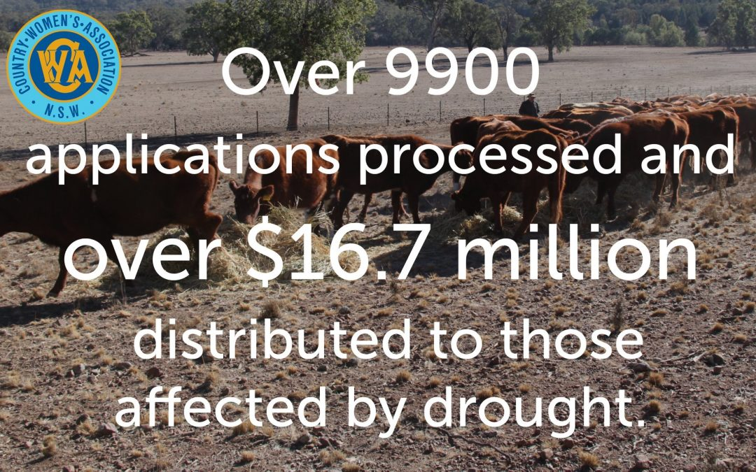 To those affected by drought